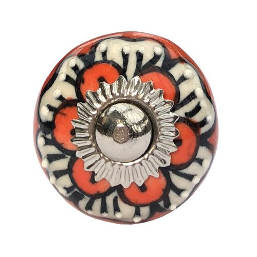 30mm Citadel Orange Flower