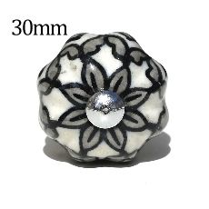 30mm grey flower melon