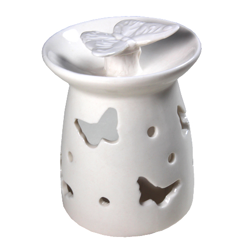 Butterfly ceramic burner