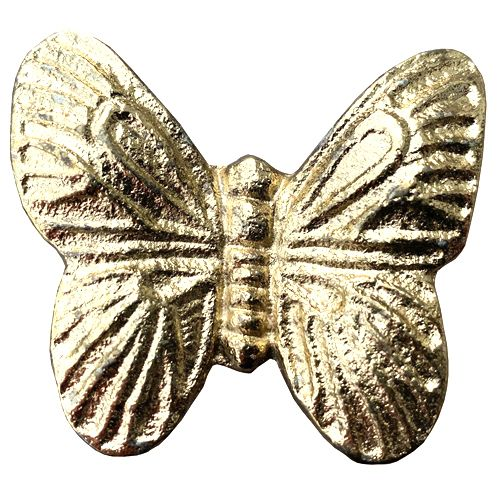 Butterfly Knob Gold