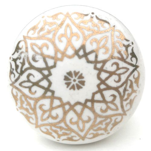 Filigree Knob 3 (gold)