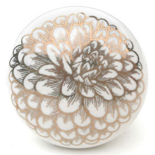 Filigree Knob 5 (gold)
