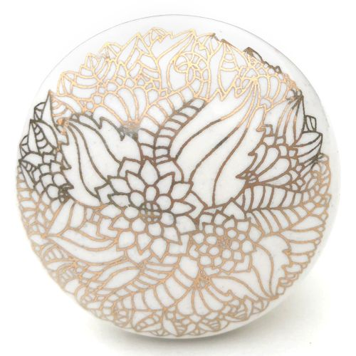 Filigree Knob 7 (gold)