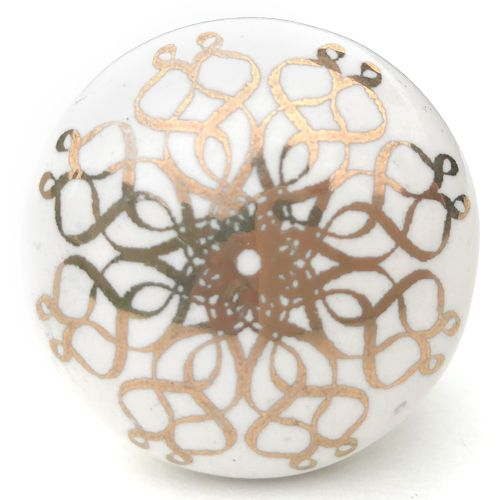 Filigree Knob 8 (gold)