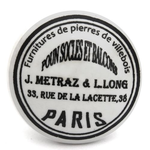 Flat Furniture de Paris knob