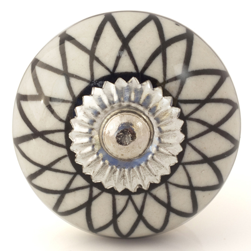 geometric patterns knob