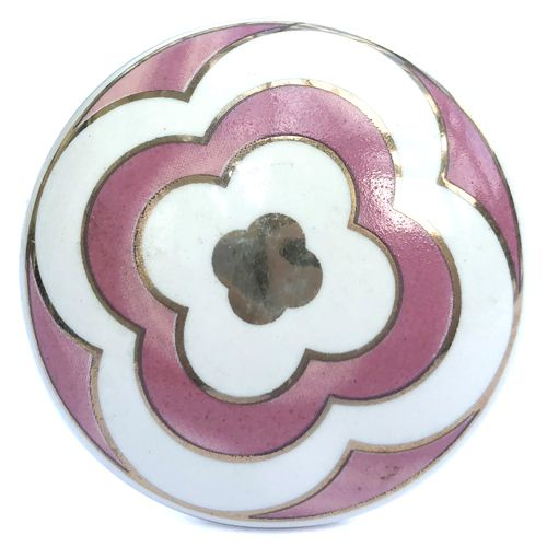 Cabinet Knobs Mum Purple Flower Drawer Knobs