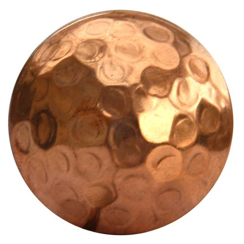 Hammered Copper Knob
