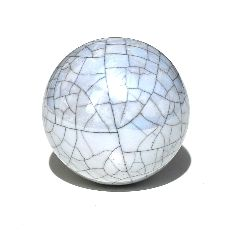 Light Grey Lustre Ball
