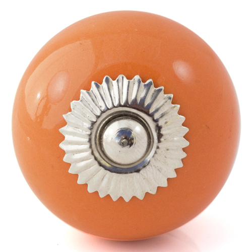 lovely bright orange knob