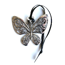 Metal Butterfly Charm