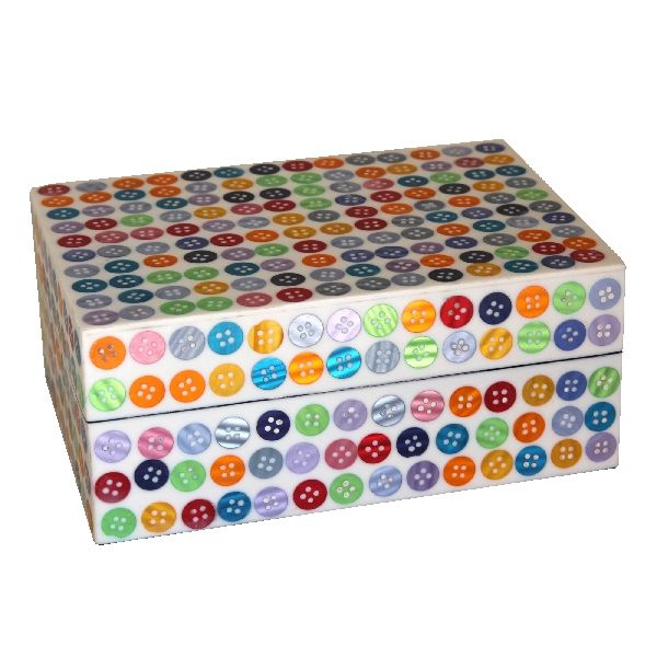 Multi Button Frame Trinket Box