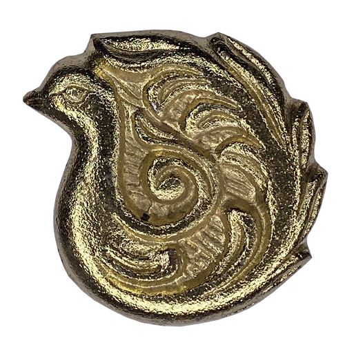 Swirl Bird Gold