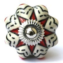 White/Black/Red Jolly Melon
